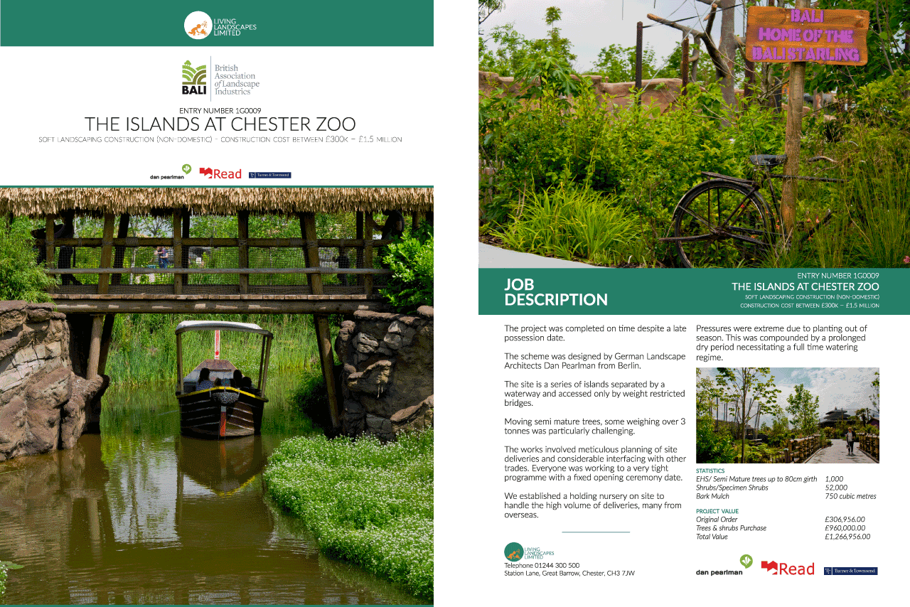 Chester Zoo Living Landscapes - Synergy 3